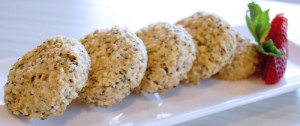 Lemon Hemp Seed Cookie